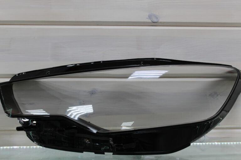 Стекло на левую фару для Audi A6 C7 2011-2014 дорестайлинг и ALLROAD 2012-2014