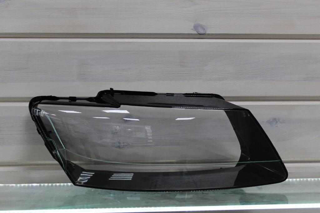 Стекло правой фары для Audi Q5 2008-2012 дорестайлинг