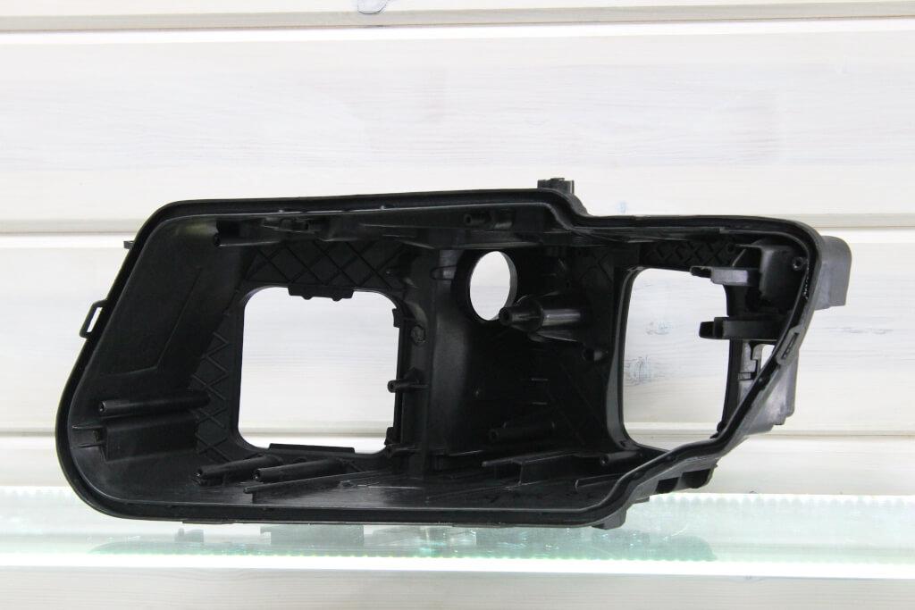Корпус левой фары для Audi Q5 2008-2012 дорестайлинг