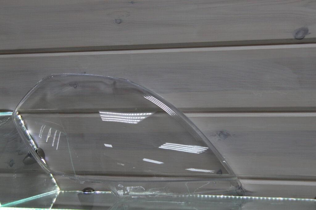Стекло правой фары для Nissan Teana J31 2005-2008 рестайлинг
