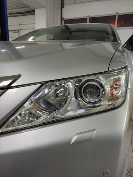 Новые линзы в Toyota Camry