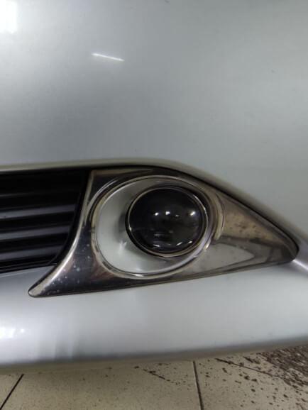 Противотуманные линзы на Toyota Camry
