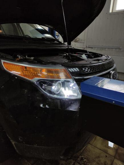 Регулировка света фар Ford Explorer 5