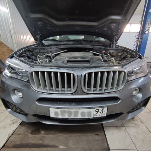 Замена стекла фары BMW F15 X5