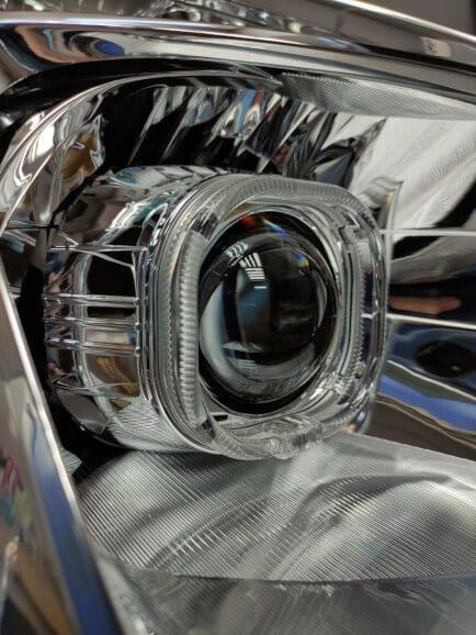 Новые линзы в Toyota Prius