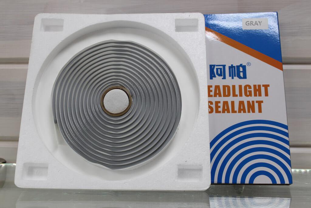 Бутиловый герметик UPS, клей для фар серый